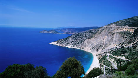 Myrtos beach, Kefallonia