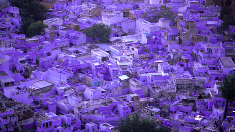 Blue-ish glow of Jodhpur, Rajasthan