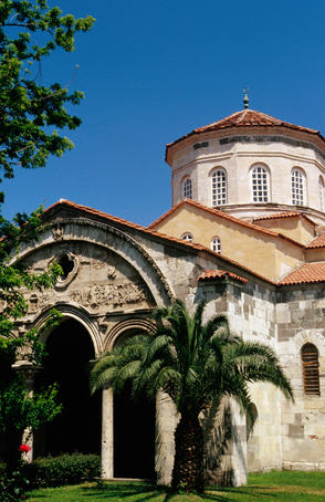Exterior of 13th-century Aya Sofya, Black Sea.