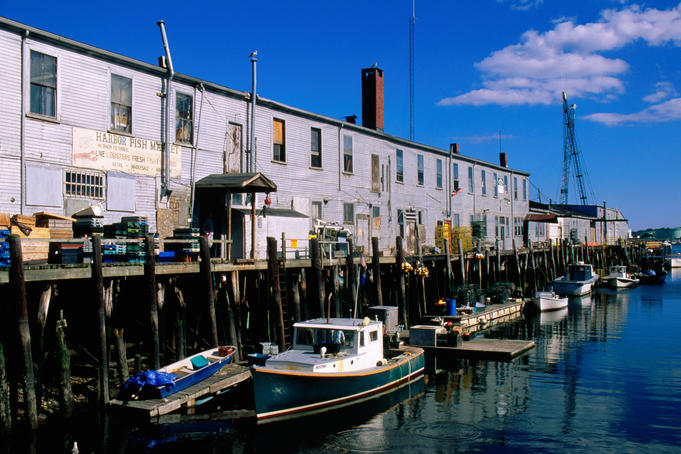 Old Port Exchange Area, fishing docks.