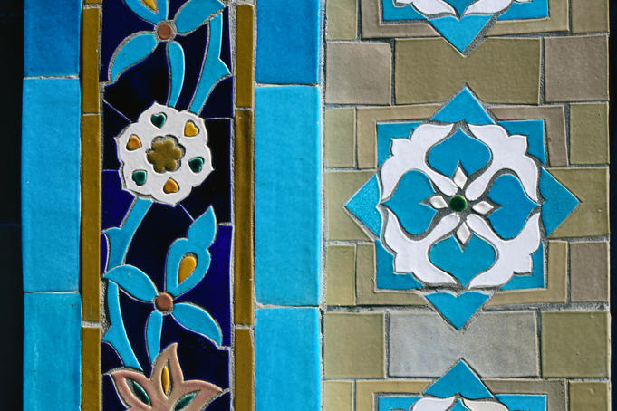 Detail of St Petersburg Mosque.
