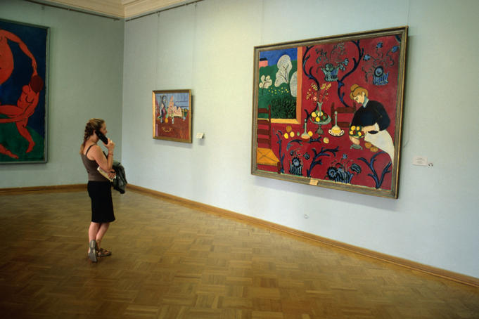 Matisse's Red Room (Room 344), Hermitage.