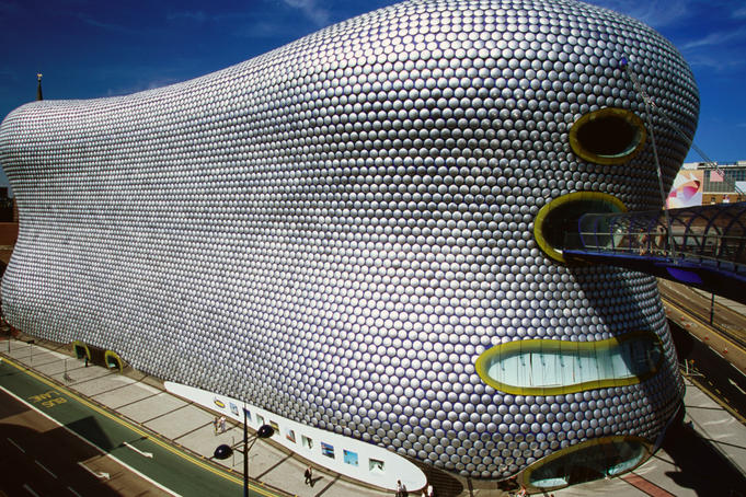 Selfridges departmemt store at Bullring shopping centre.