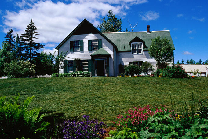'Green Gables' house, Prince Edward Island National Park.