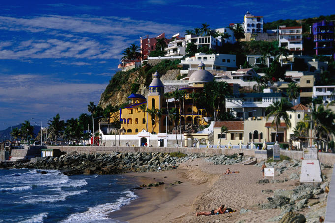 Playas Olas Altos, Old Town, Mazatlan