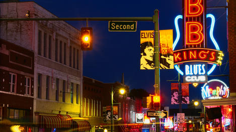Beale street, Memphis