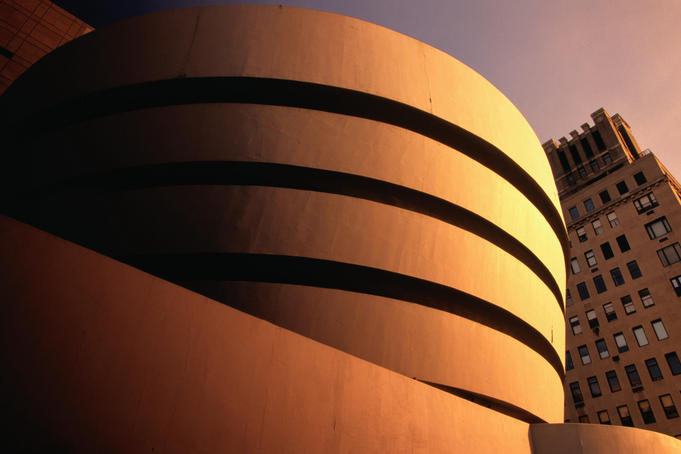 The Guggenheim Museum, designed by Frank Lloyd Wright - New York City, New York