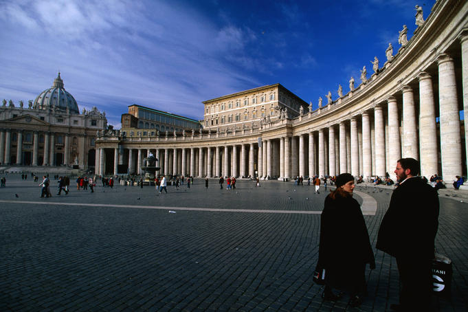 St Peter's Square, Vatican City.