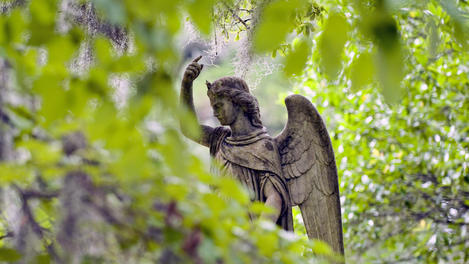 Angel sculpture, Savannah