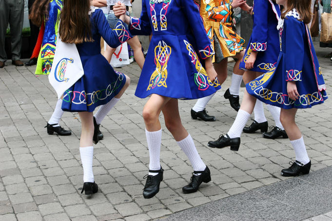 Irish Dancers.