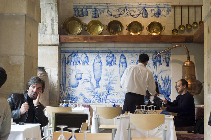 Restaurant in Museu Nacional do Azulejo.