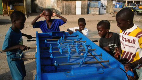 table soccer, Senegal