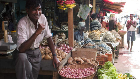 Pettah Market, Colombo