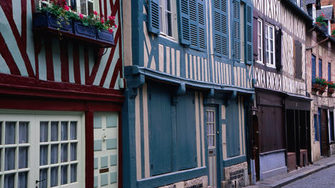 Half-timber architecture, Normandy