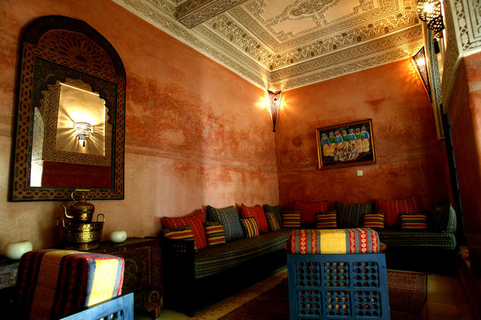 Interior of Riad Auggy.