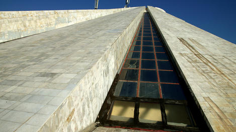 The 'Pyramid', Tirana