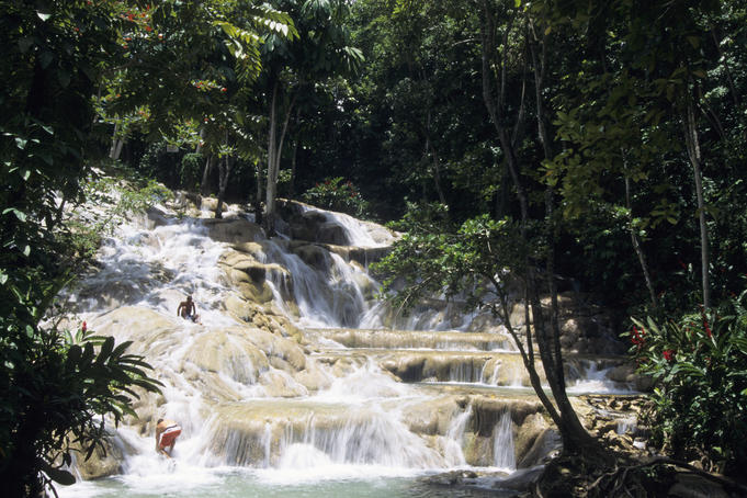 Dunn's River Falls.