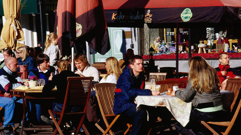 Alfresco cafes, Estonia