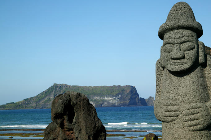 Stone Grandfather, Sinyang Beach, Tol-Harubang.