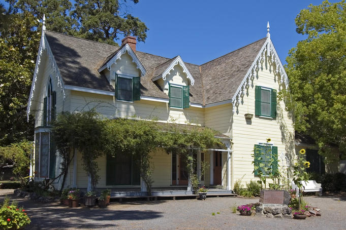 Lachrima Montis, home of General MG Vallejo, part of Sonoma Historic Park, built in 1851.