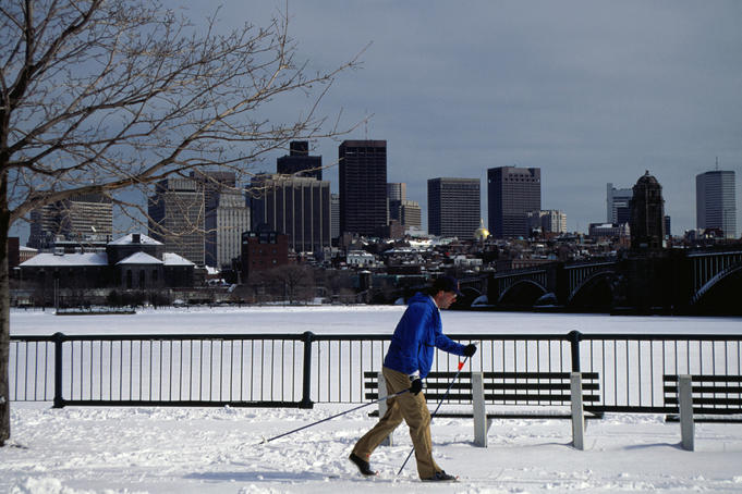 A very northern hemisphere thing to do - Boston, Massachusetts