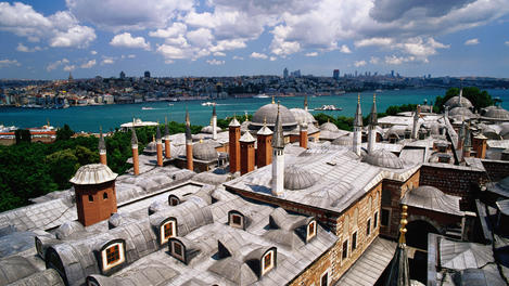 Topkapi Palace's roof top, Istanbul