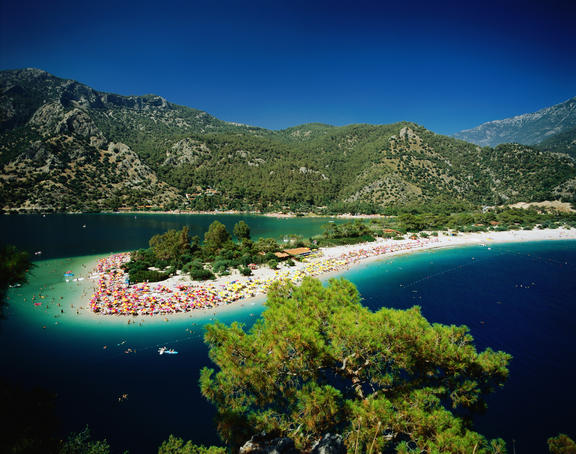 Clear blue waters, Fethiye.