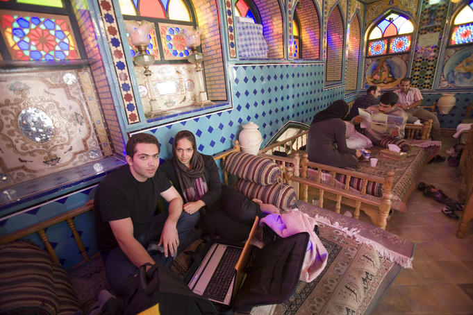 Teahouse, Emam Khomeini Square.