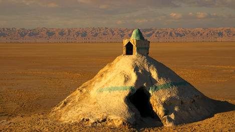 Salt Mausoleum, Chott el Jerid, Tunisia