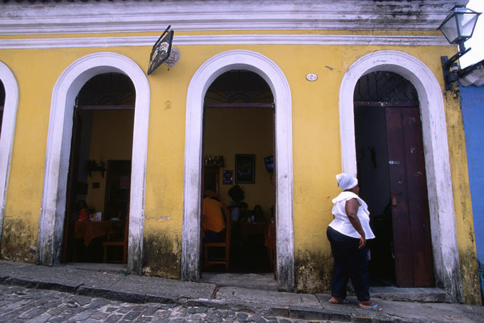 Alaide de Feijo restaurant in Pelourinho, Salvador