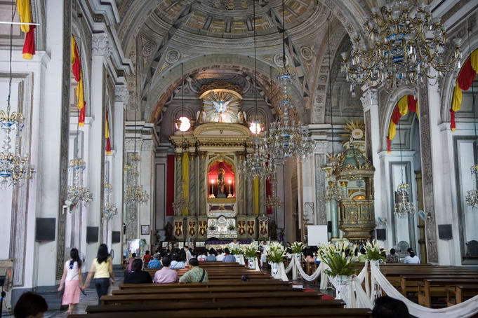 San Augustin Church in Intramuros, Manila, Philippines
