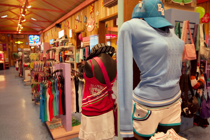 Surfer Girl shop interior.