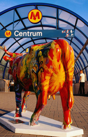 CowParade, an international charity art event.