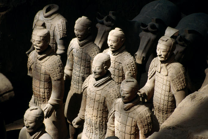Army of Terracotta Warriors.