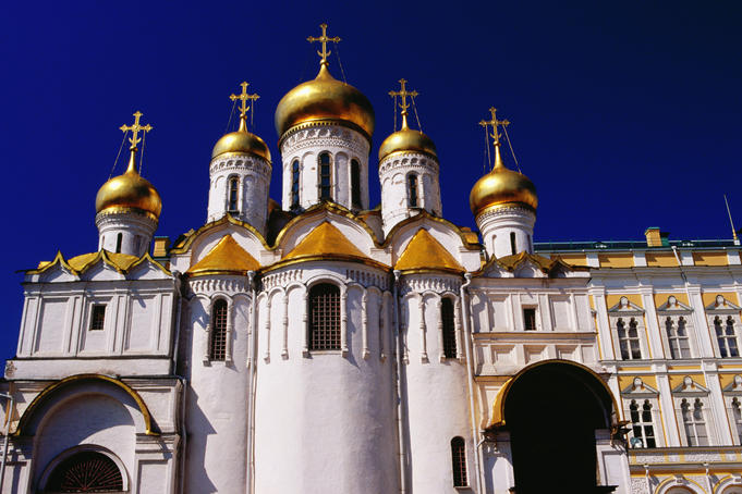 Annunciation Cathedral in the Kremlin.