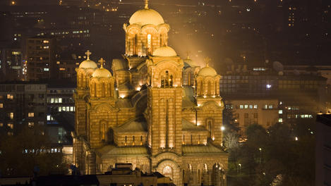 Sveti Marko Orthodox Church, Belgrade