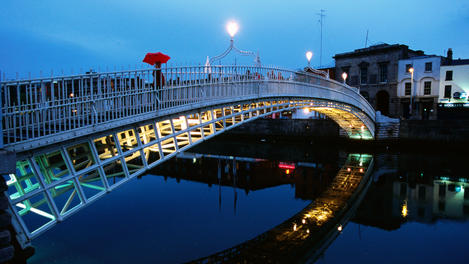 Liffey River, Dublin