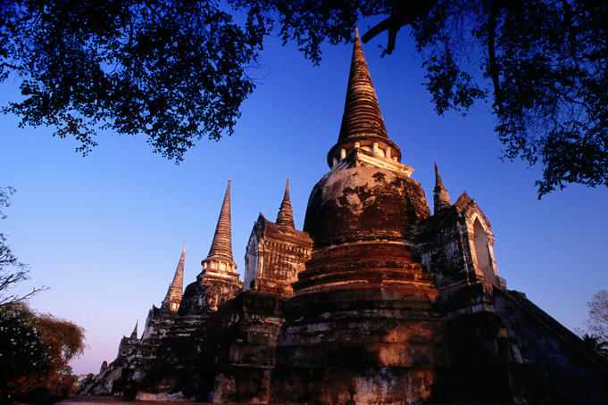 Stupa of Wat Phra Si Sampeth.