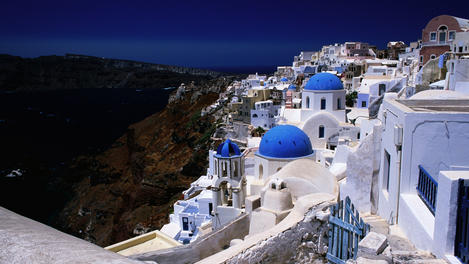 Houses, Santorini