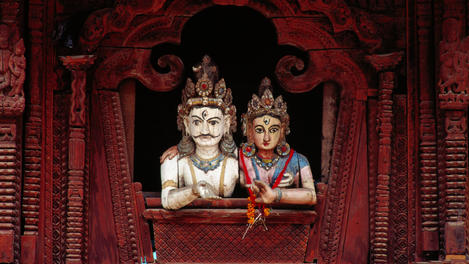 Shiva and Parvati Temple, Durbar Square