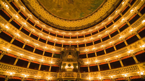 Teatro San Carlo opera house, Amalfi Coast