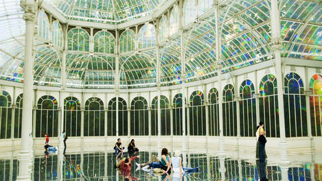 Palacio de Cristal , Madrid