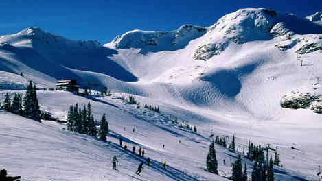 Coast Mountains, Whistler