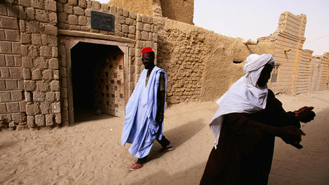 House of French explorer Ren, Timbuktu