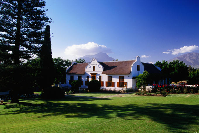 'Twee yonge gazellen' house, Tulbagh winery.