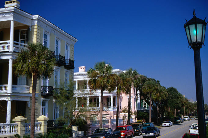 Charleston's magnificent houses along the coast - Charleston, South Carolina