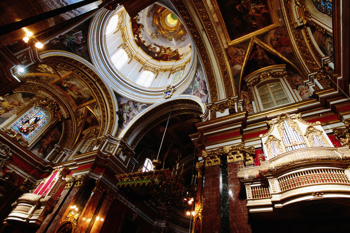 St Paul's Cathedral, interior.