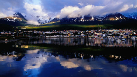 City mountains, Ushuaia