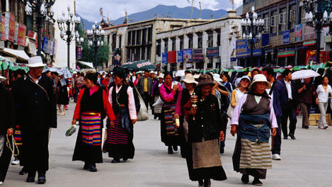 Barkhor Kora Pilgrimage Circuit, Tibet