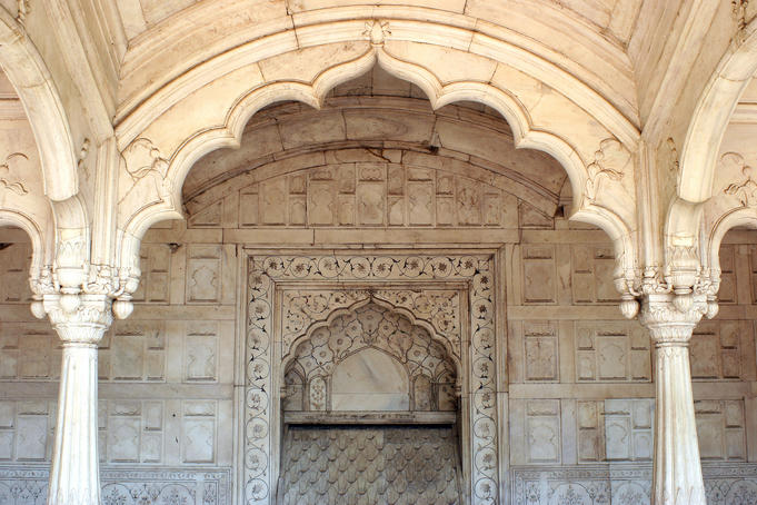 Red Fort (Lal Qila) Complex.